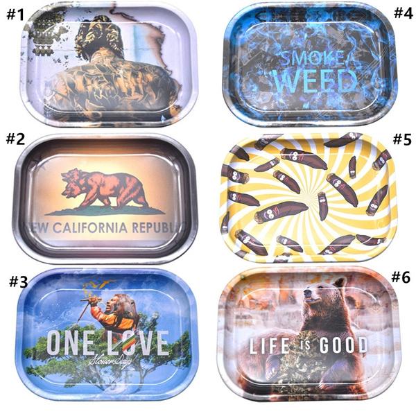 tobacco, tray, tobaccoholder, Metal