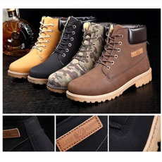 ankle boots, Mens Boots, Leather Boots, moccasin