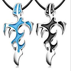 Steel, Jewelry, Chain, Fire