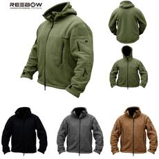 Fleece, hooded, Hiking, camping