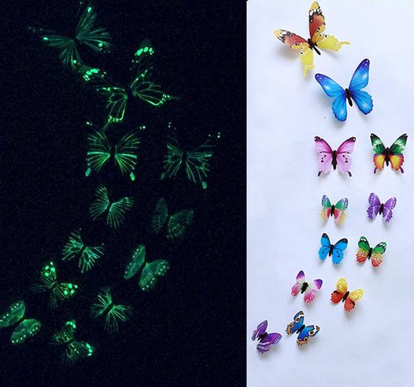 butterfly, simulationbutterfly, Decor, windowsticker
