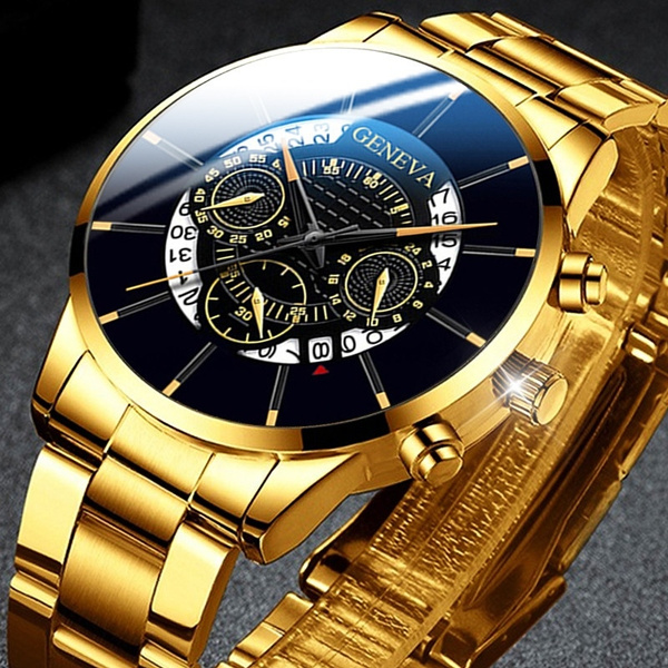 Steel, Fashion, Casual Watches, Quartz Wrist Watch