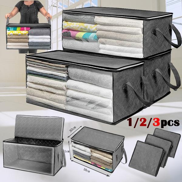 Box, washablewardrobecantainer, Home Supplies, clothesorganizer