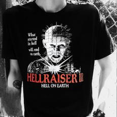 Movie, blacktshirt, mensblacktshirt, pinhead
