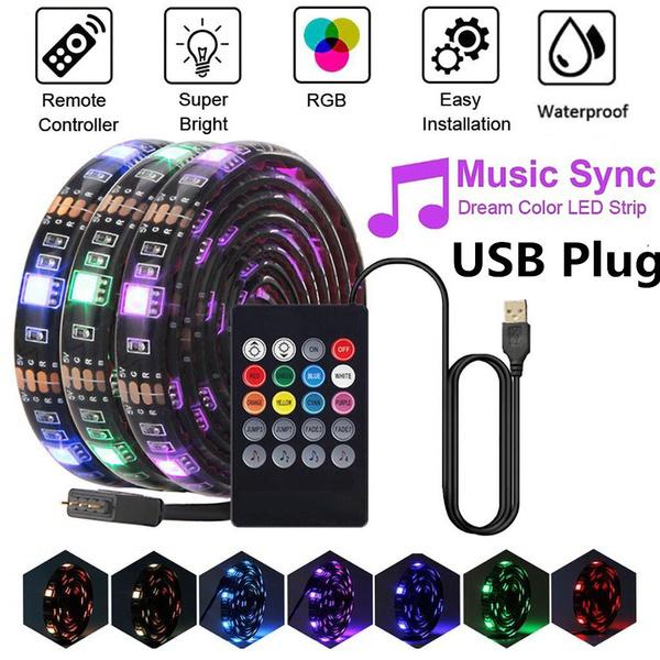 ledlightsstrip, led, usb, Music