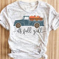 thanksgivinggift, fashion women, Fashion, Cotton T Shirt