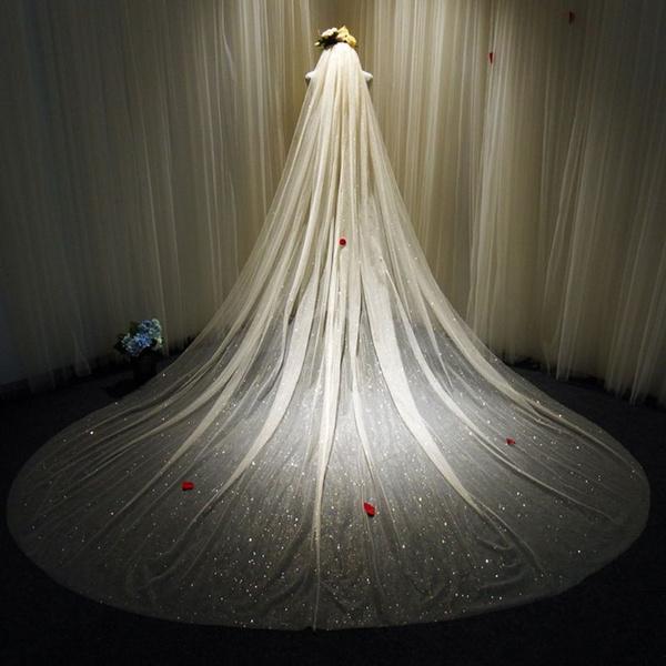 weddingveil, Romantic, bridalveil, headwear