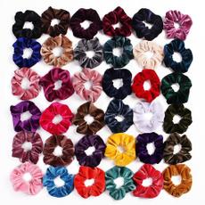 hair, scrunchie, velvet, Jewelry