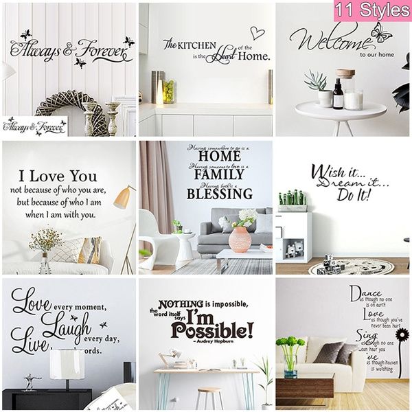 PVC wall stickers, Decor, Fashion, Wall Art