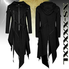 Fashion, Cosplay, punk style, black hoodie