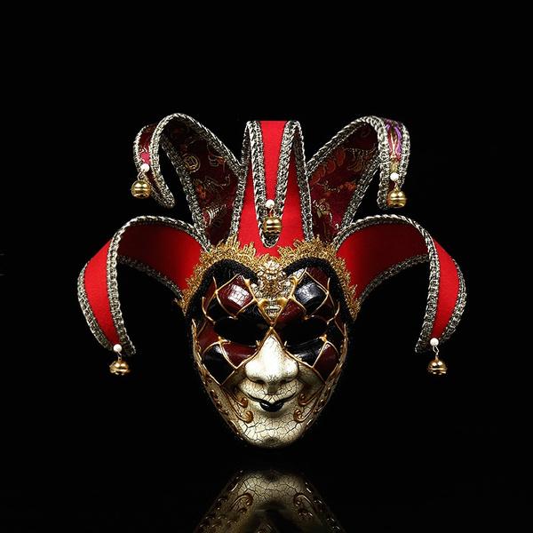 jokermask, Cosplay, partymask, Masquerade