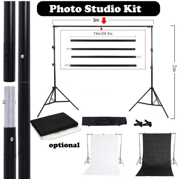 nonwovenbackdrop, softbox, Kit, photographylightingkit
