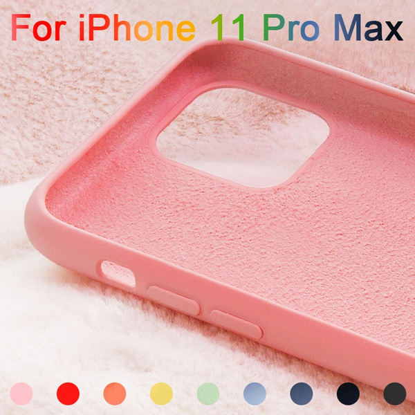 Apple IPhone 11 Pro Max Case Liquid Silicone Soft PC Baby-Skin Cover for IPhone 11 Case Coque IPhone 7 8 X XR XS Case | Wish