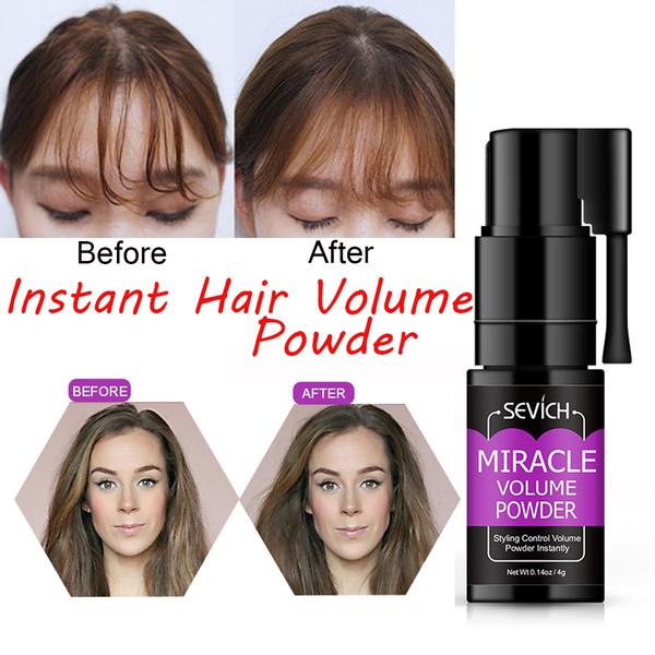 Fiber Powder Hair Thickening Powder 4g Professional Pomades Wax Beauty Tools Hair Styling Quick Oil Remove Disposable Hair Wax Hair Volume Powder Fluffy Mattifying Wish