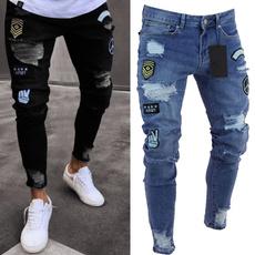 trousers, holepant, men trousers, rippedjean