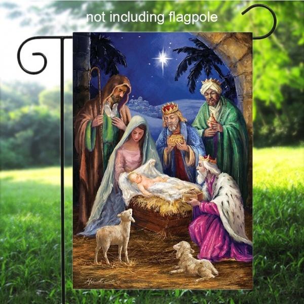 Seasonal, nativity, Outdoor, Garden