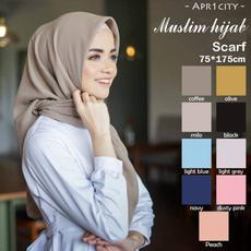 muslim hijab, Scarves, scarfforwomen, chiffon