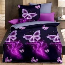 butterfly, case, bedlinen, Decoración de hogar