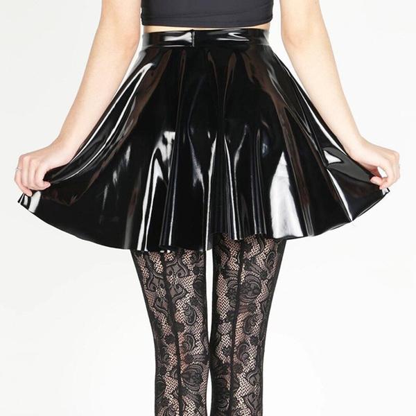 Skater Skirt, Fashion, gothicskirt, Pleated