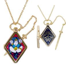 exclusive, Superhero, Necklace, gold