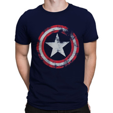 Blues, Superhero, avenger, distressed