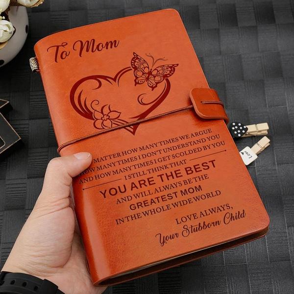brown, Love, graduationanniversarygift, travelingnotebook