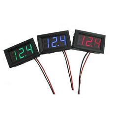 carvoltmeter, led, 3digital, minivoltmeter
