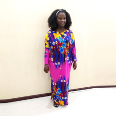 fashionmamadres, Plus Size, Floral print, Dress