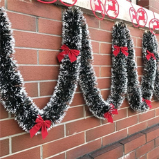 christmasstreamer, christmasribbonsdecor, ribbongarland, Garland