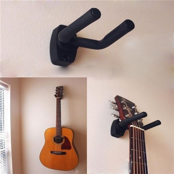 guitarwalldisplay, Wall Mount, guitarbassscrew, Hooks