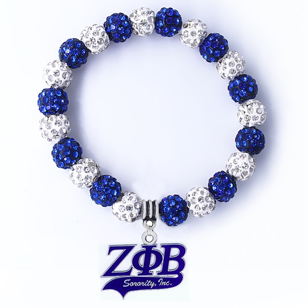 Fashion, Jewelry, greeksocietybracelet, zetaphibetasororitybracelet