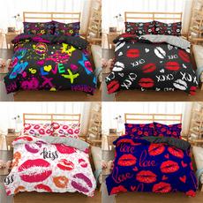 Women, kissbedding, girlsbeddingset, Bedding