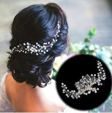 Joyería, Bride, Handmade, rhinestonehairclip