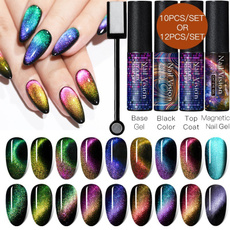 led, cateyegelpolish, gelpolish, magneticnailpolish