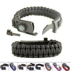Multifunctional tool, Outdoor, rope bracelet, Wristbands