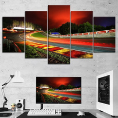 decoration, canvasprint, nurburgring, Home & Living