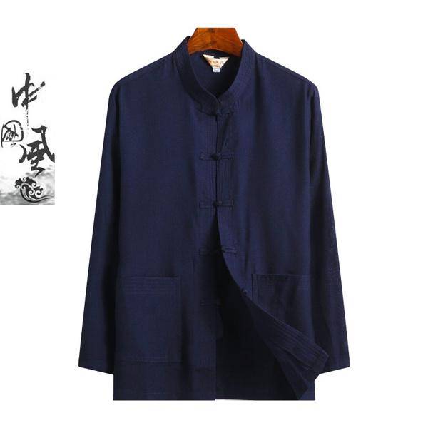 Jacket, retroshirtelder, kungfushirt, chinesetraditionalclothing
