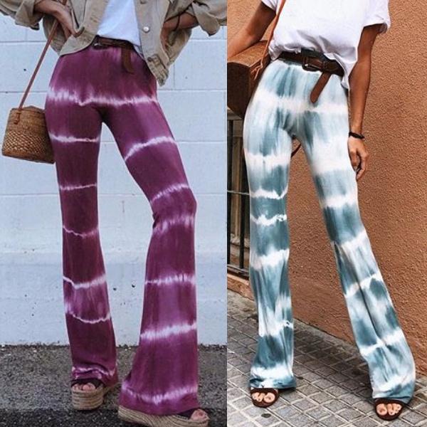 gradientcolor, Women Pants, Fashion, wideleg