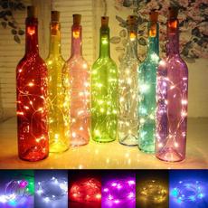Copper, Night Light, winebottle, fairy