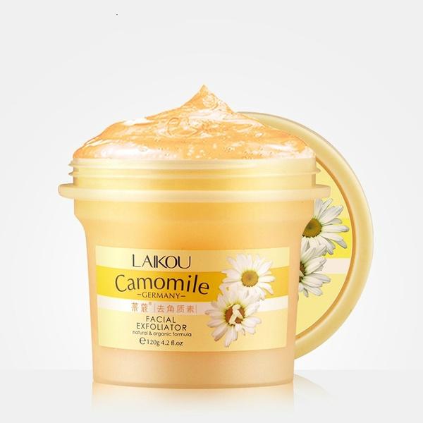 Cleanser, collagen, exfoliator, moisturize
