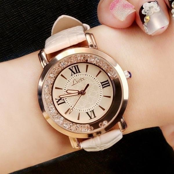 quartz, Jewelry, gold, fashion watches