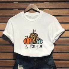 Cotton, pumpkintshirt, itsfallyalltshirt, Shorts