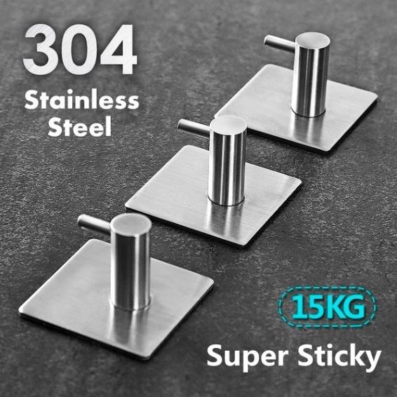Bathroom Accessories, Door, Stickers, Stainless Steel