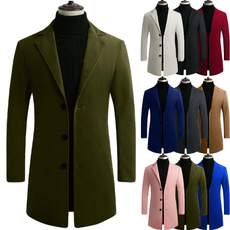 casual coat, woolen, men coat, Fashion