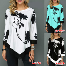 blouse, Plus Size, Shirt, Manga