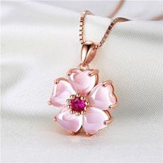 Elegant, quartz, Cherry, sakurapendant