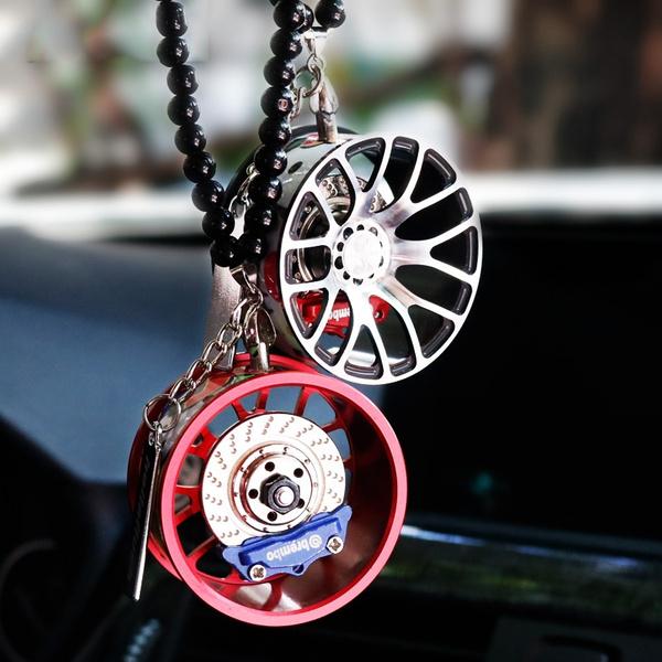 autoornament, rearviewmirrorpendant, Jewelry, wheelhubcarpendant
