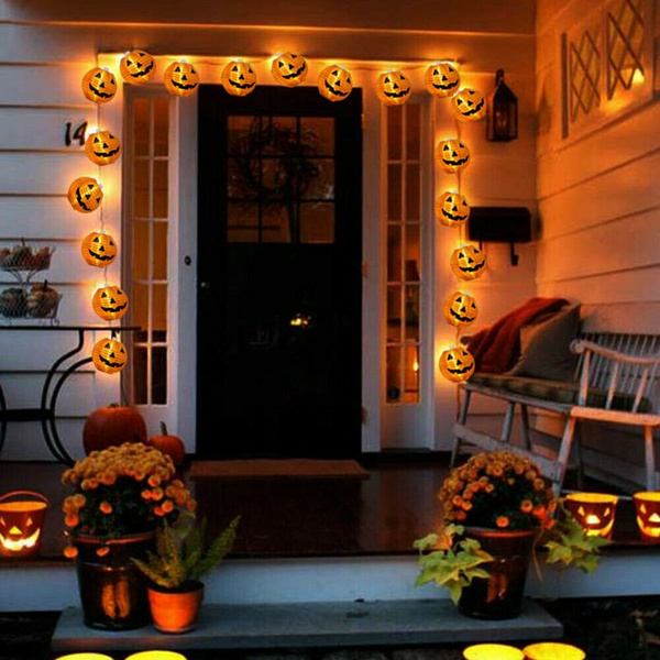 decoration, halloweenlamp, led, Battery