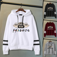 friendshoodie, Fashion, pullover hoodie, Long Sleeve