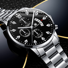 dial, Fashion, chronographwatch, Casual Watches